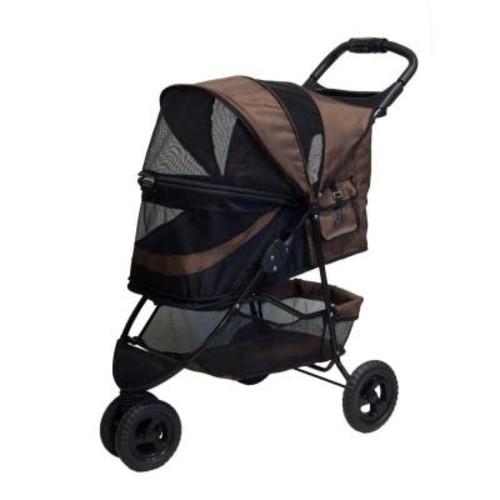Pet Gear No-Zip Special Edition Chocolate Pet Stroller