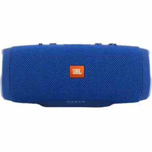 JBL Charge 3 Waterproof Portable Speaker - Blue - Recertified