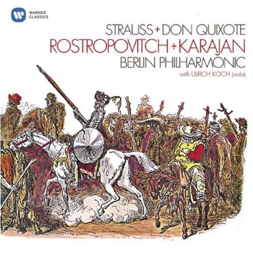 Mstisl Rostropovich - R Strauss:Don Quixote (CD)
