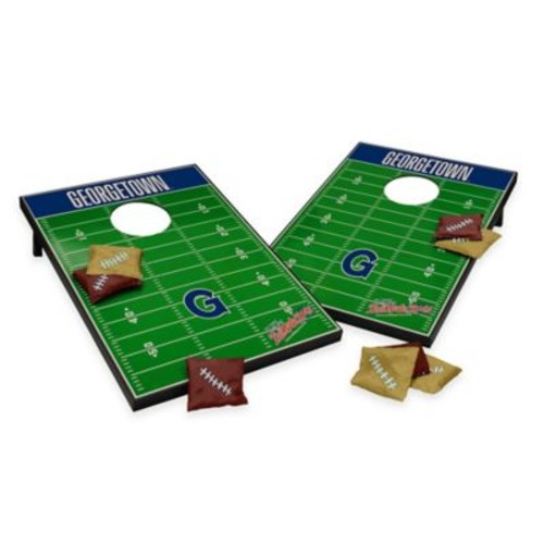 NCAA Georgetown University Field Tailgate Toss Cornhole Game