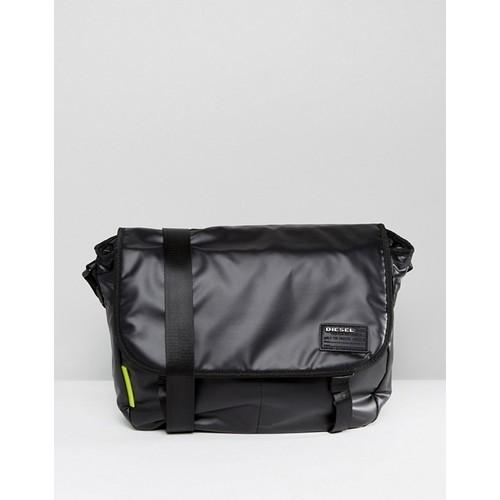 Diesel Messenger Bag In Black