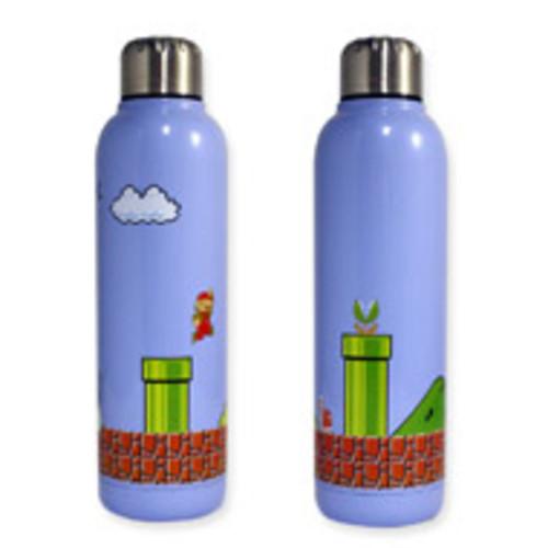 Super Mario Bros Stainless Steel Water Bottle