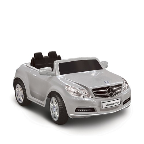 Mercedes Benz E550 One Seater in Silver 6V