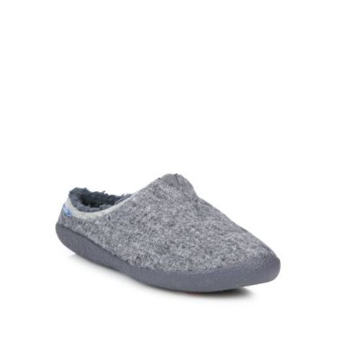 Washed Canvas Slippers