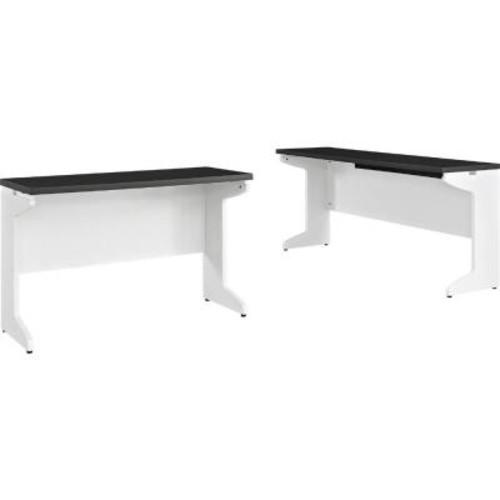 Altra Furniture Pursuit White Desk