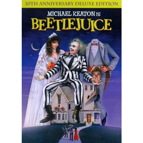 Beetlejuice (20th Anniversary Edition) (Deluxe Edition) (dvd_video)