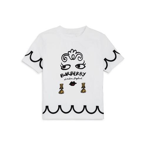 BURBERRY Girls' Graphic Tee - Little Kid, Big Kid