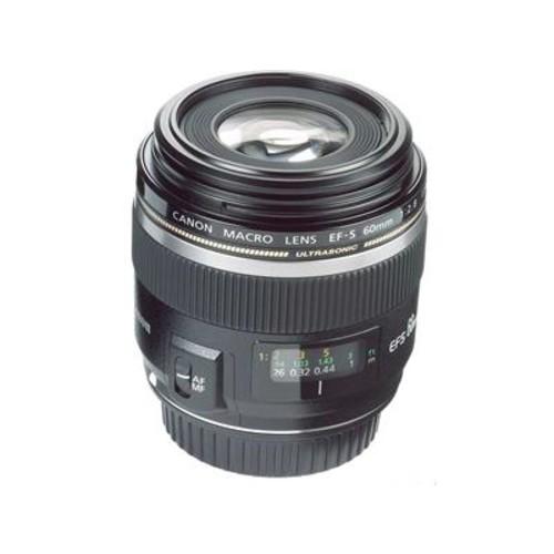 Canon EF-S 60mm f/2.8 USM Medium telephoto macro prime lens for APS-C sensor Canon EOS DSLR cameras