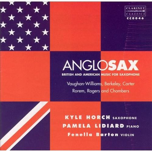 AngloSax: British & American Music for Saxophone [CD]