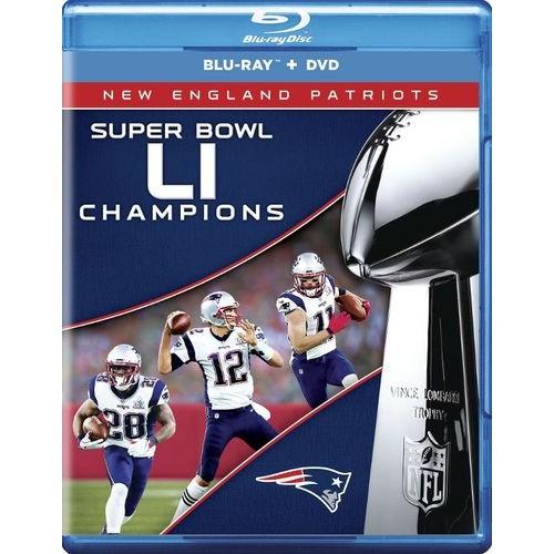 NFL: Super Bowl LI Champions - New England Patriots [Blu-ray] [2017]
