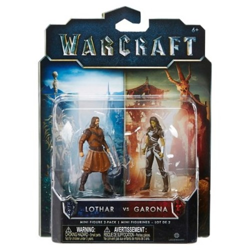 Warcraft Mini Figure - Lothar vs. Garona