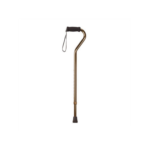 Drive Medical Foam Grip Offset Handle Walking Cane rtl10307