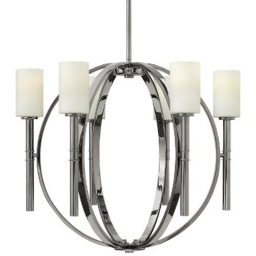 Margeaux Chandelier [Number of Lights : 5; Finish : Polished Nickel]