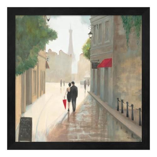 Metaverse Art Paris Romance I Framed Wall Art