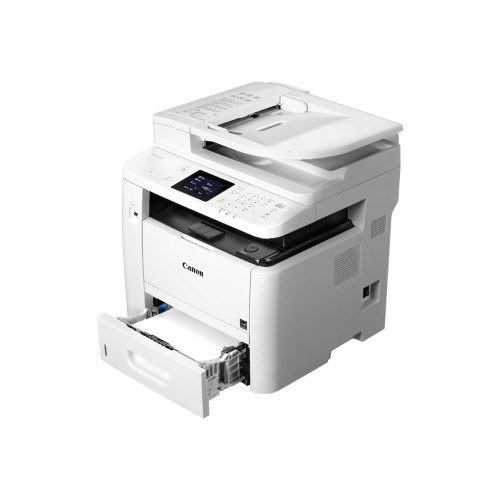 Canon ImageCLASS D1550 - Multifunction printer - B/W - laser - Legal (8.5 in x 14 in) (original) - A4/Legal (media) - up to 35 ppm (copying) - up to 35 ppm (printing) - 550 sheets - 33.6 Kbps - USB 2.0, Gigabit LAN, Wi-Fi(n), USB host, NFC (0291C009)