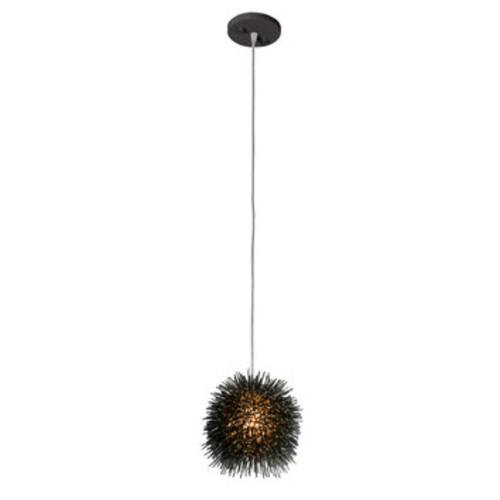Urchin 1-Light Globe Pendant [Finish : Black]