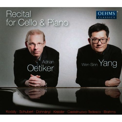 Recital For Cello & Piano - CD