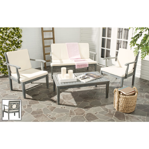 Safavieh Montclair 4PC Outdoor Patio Set