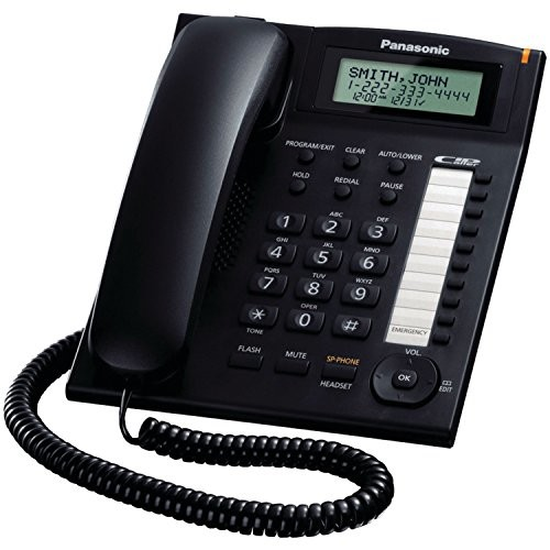 Panasonic KX-TS880B Integrated Corded Telephone [KX-TS880B]