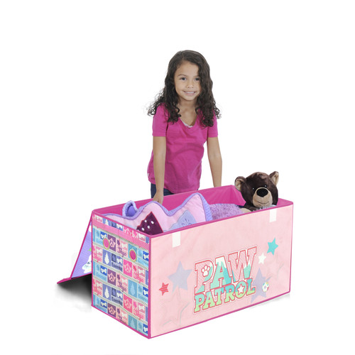 Paw Patrol Skye & Everest Collapsible Toy Chest - Pink/ Purple