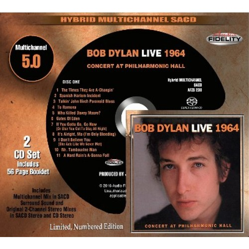 Bootleg Series, Vol. 6: Bob Dylan Live 1964, Concert at Philharmonic Hall [SACD] [Super Audio CD (SACD)]