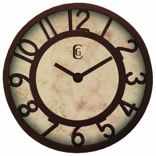 La Crosse Technology Equity Antique Finish Plastic Wall Clock - 20861