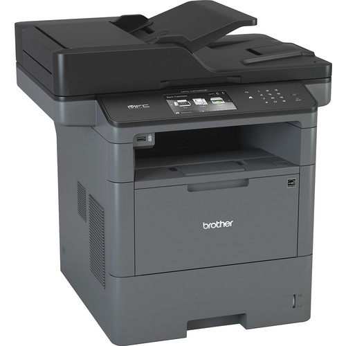 Brother - MFC-L6700DW Wireless Black-and-White All In One Laser Printer