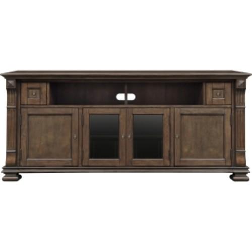 PR36 Mocha Finish Wood Home Entertainment Cabinet