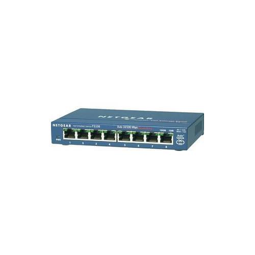 NETGEAR ProSAFE FS108NA 8-Port Fast Ethernet Switch (FS108NA)