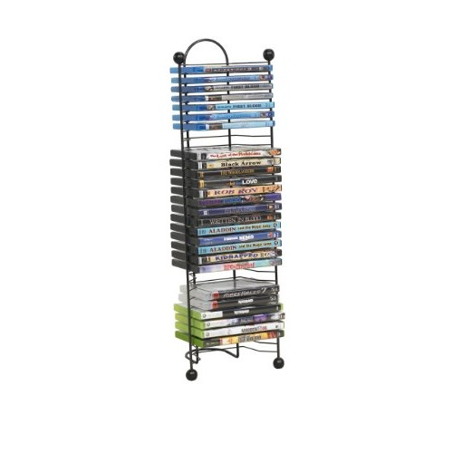 Atlantic 63712046 32-DVD Nestable Tower [Gunmetal, 32]