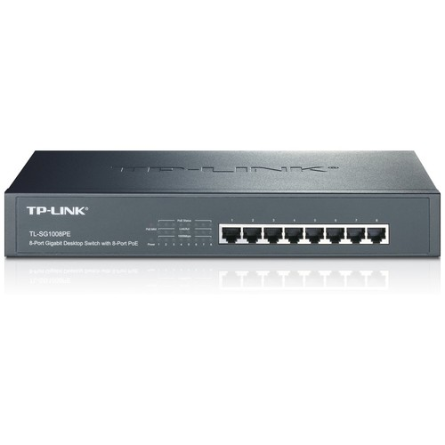 TP-LINK TL-SG1008PE Switch - 8 ports - unmanaged