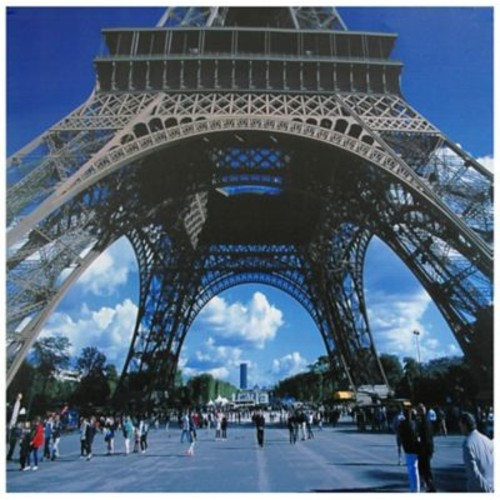 Oriental Furniture Eiffel Tower Photographic Print on Wrapped Canvas