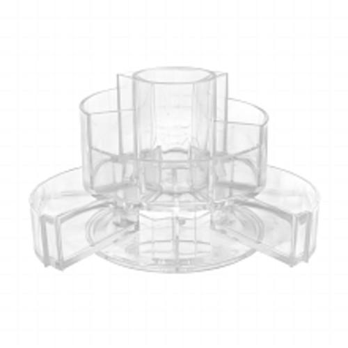 SOHO Expandable Cylinder Vanity Acrylic Organizer