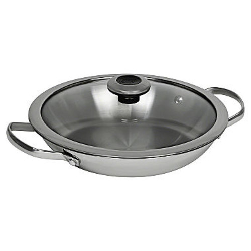 Revere Copper Confidence Core 1.9 qt Stainless Steel Braising Pan 1125040