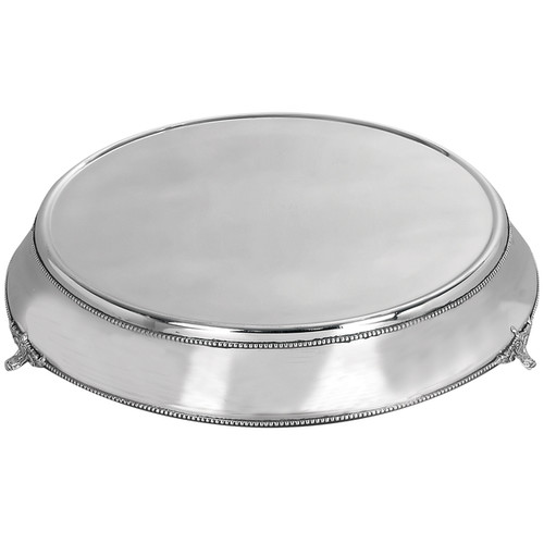 Studio 350 Serving Platters & Trays Stainless Steel Cake Plate