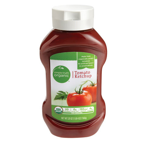 Simple Truth Organic Tomato Ketchup -- 20 oz