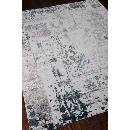 Nourison Silk Shadows Silver Grey Rug (3'9 x 5'9)