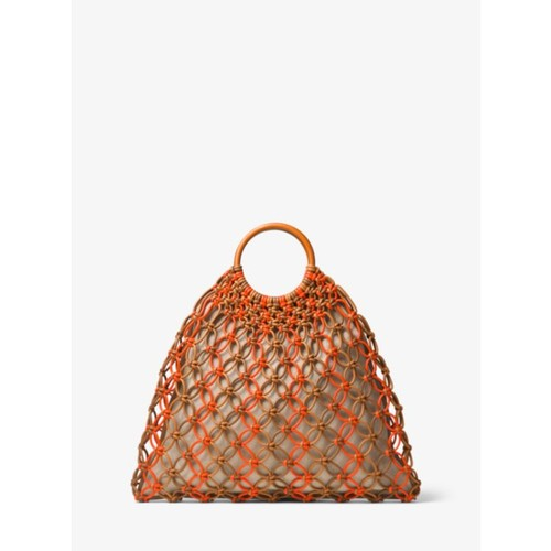 Cooper Woven Leather Tote