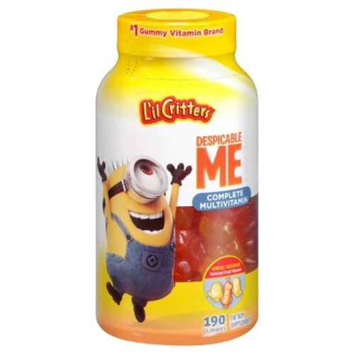 Lil Critters Despicable Me Complete Multivitamin Fruit Flavored Gummies - 190 Count