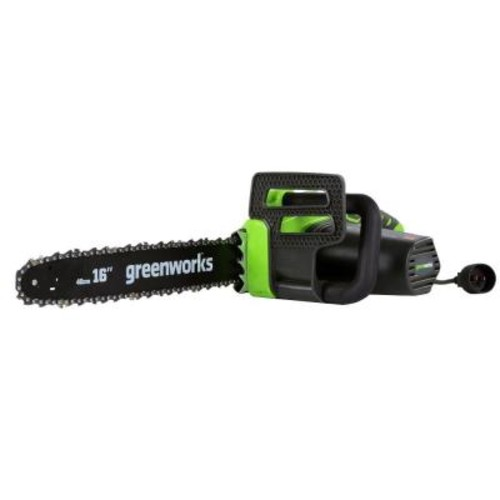 Greenworks 16 in. 12 Amp Electric Chainsaw