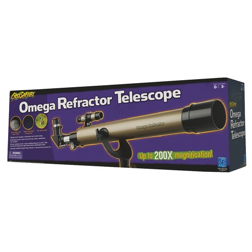 Omega Refractor Telescope by Educational Insights
