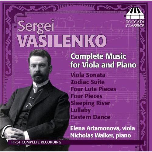 Sergei Vasilenko: Complete Music for Viola & Piano [CD]