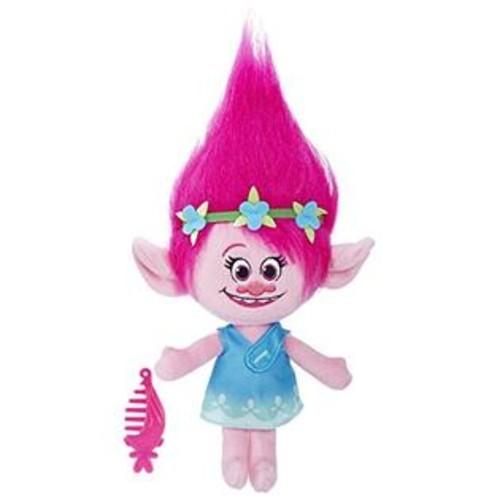 Hasbro DreamWorks Trolls Poppy Talkin' Troll Plush Doll