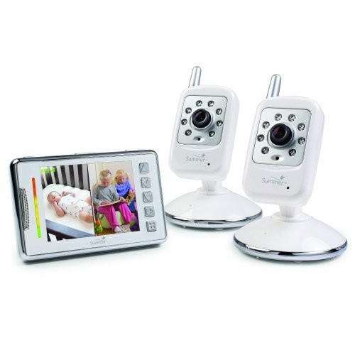 SUMMER INFANT #28490A Infant Multi View Digital Color Video Monitor Set /2 x Camera, Monitor - 3.5