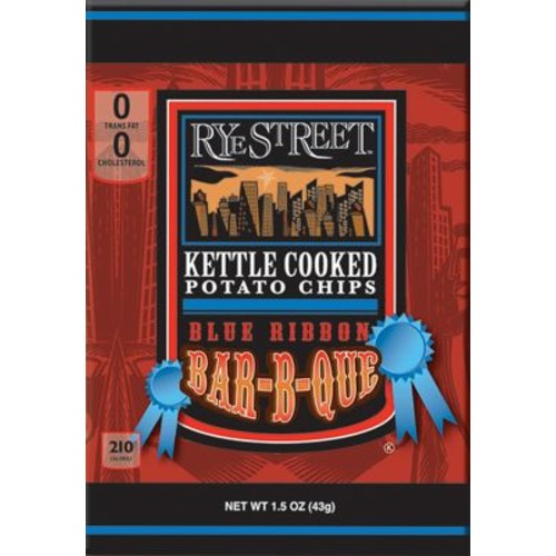 Rye Street Kettle Cooked Potato Chips, 55 Bags/Box