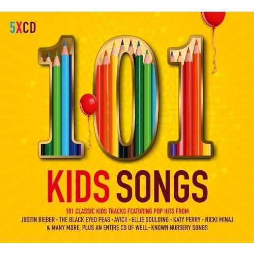 101 Kids Songs [CD]