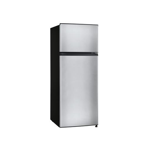 Midea 7.1-Cu.-Ft. Top-Mount Refrigerator - Stainless Steel