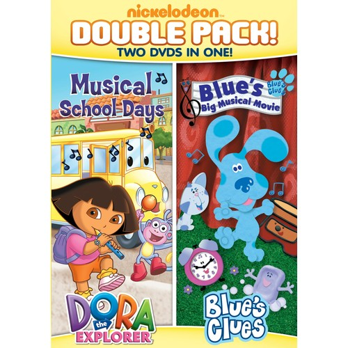 Dora the Explorer: Musical School Days/Blue's Clues: Blue's Big Musical Movie [2 Discs] [DVD]