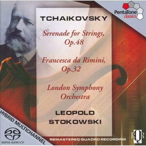 Serenade For Strings Op 48 & Op 32 (Hybr) - CD