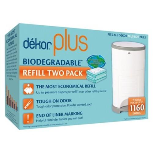 Dekor 2-pk. Biodegradable Plus Diaper Pail Refill Bags